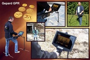 GEPARD GPR-Ground Penetrating Radar with Android Tablet PC